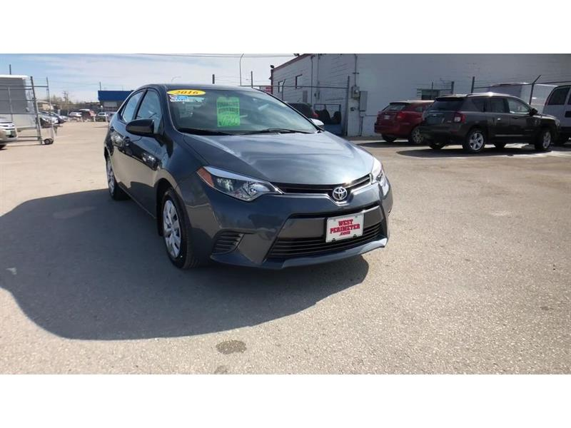 2016 Toyota Corolla S HEATED SEATS, BACKUP-CAM, BLUETOOTH #5450