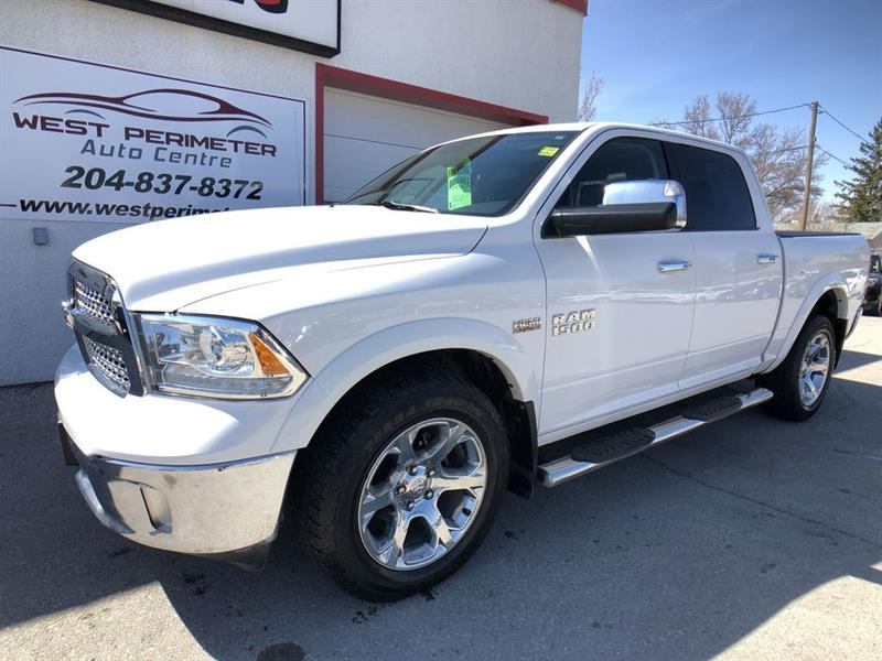 2015 Ram 1500 Laramie 4X4 BLUETOOTH, CRUISE, LEATHER, 20 INCH RI #LSE372