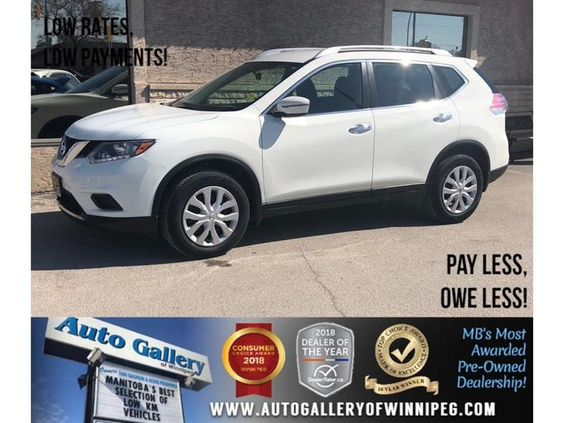 2016 Nissan Rogue S *AWD/Bluetooth/Backup Cam #23831