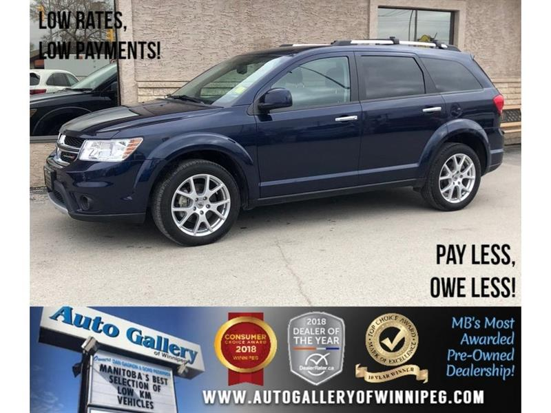 2018 Dodge Journey GT *AWD/Bluetooth/Htd Lthr #23846