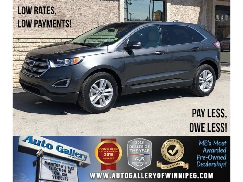 2018 Ford EDGE SEL *AWD/Htd Lthr/Navi/Pano Roof #23860