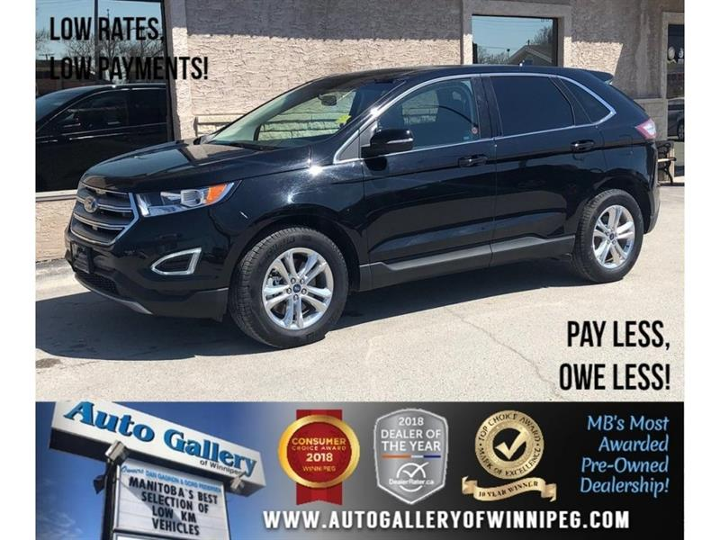 2018 Ford EDGE SEL *AWD/Lthr/Pano Roof/Navi #23871