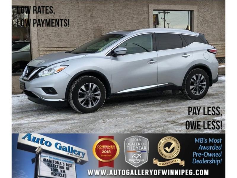 2016 Nissan Murano SL *AWD/Navi/Lthr/Pano Roof #23452