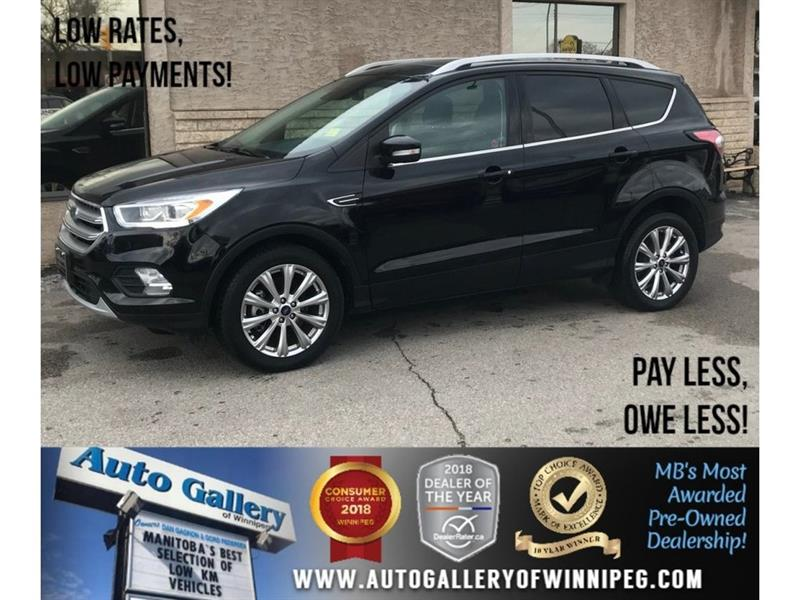 2017 Ford Escape Titanium *AWD/Htd Lthr/Pano Roof/Navi #23649