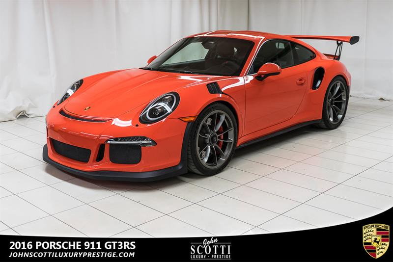 Porsche 911 2016 GT3 RS Lava Orange #C0380