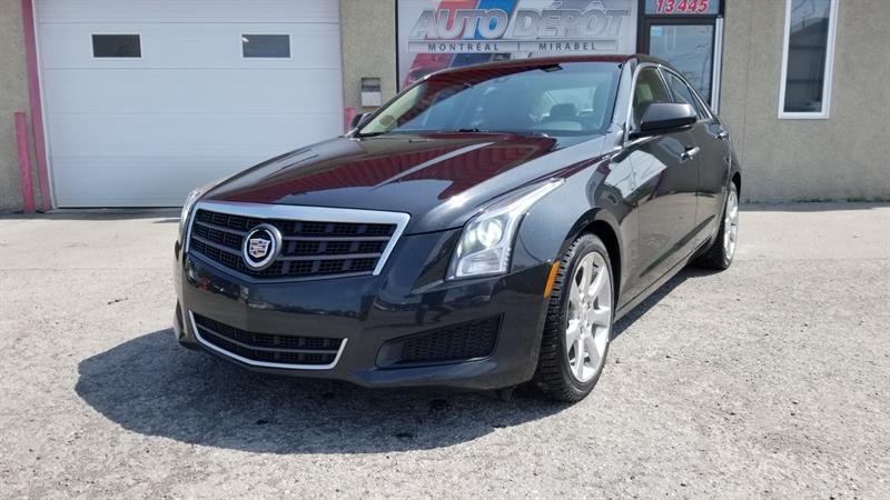 Cadillac ATS 2014 2.0L RWD - MANUELLE 6 VITESSES #6431