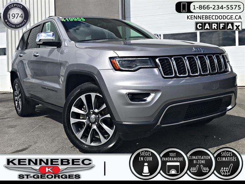 Jeep Grand Cherokee 2018 Limited 4x4 #05076