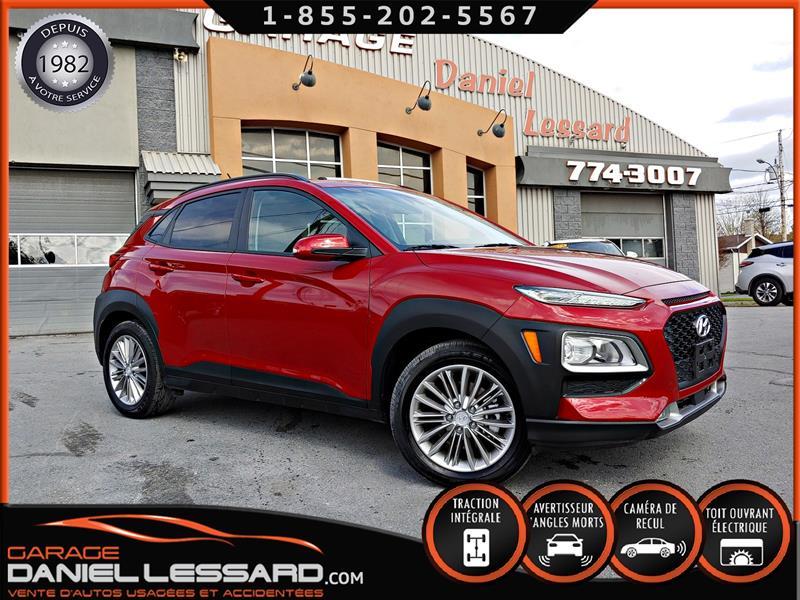 Hyundai Kona 2019 LUXURY 2.0L AWD, CUIR, TOIT, CAM ET SONARD #99296