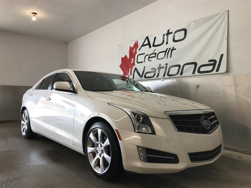 Cadillac ATS 2013 AUTOMATIQUE A/C CUIR SIEGES CHAUFFANTS MAGS CRUISE #10767