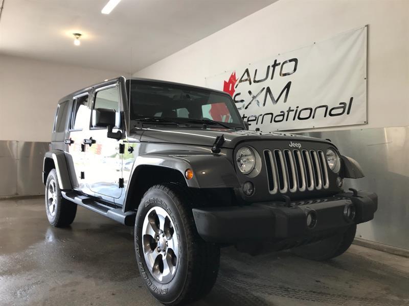 Jeep Wrangler JK Unlimited 2018 Sahara 4x4 CUIR NAVIGATION #4211