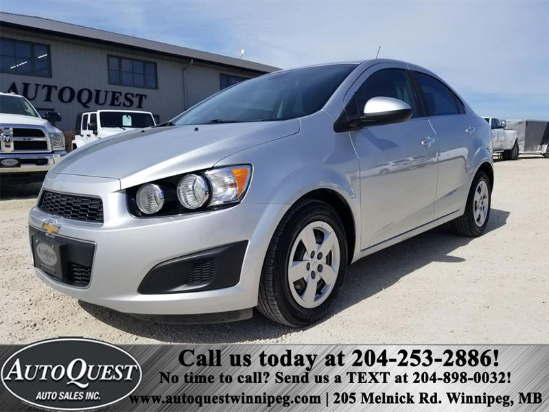 2012 Chevrolet Sonic LT 1.8L 4cyl 4dr Sedan #1117