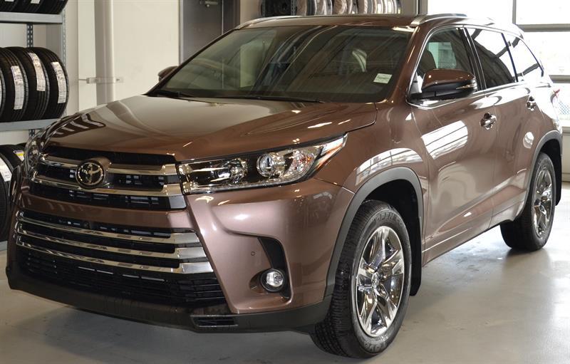2019 Toyota Highlander AWD Limited #DZ6403