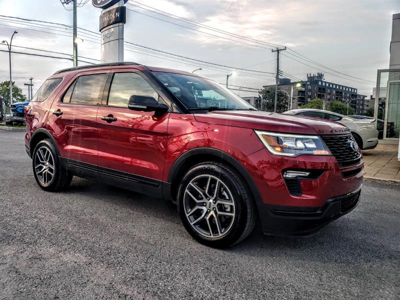 Ford Explorer 2019 SPORT ** 10,000$ RABAIS ** #91092a