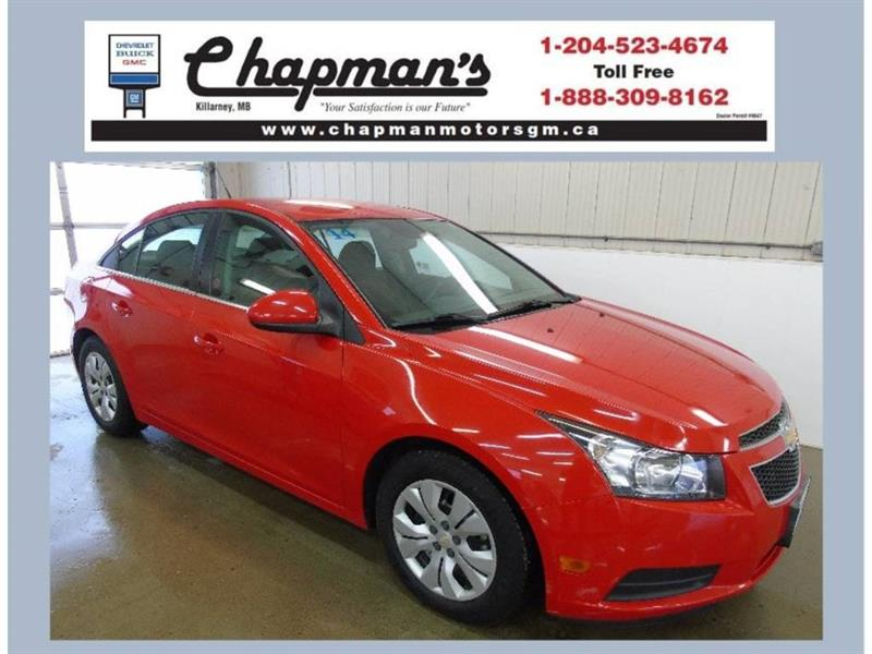 2014 Chevrolet Cruze LT, Bluetooth, USB, 16 Wheels #J-043B