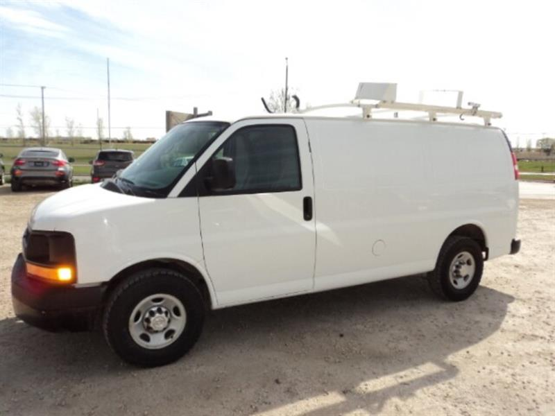 2014 Chevrolet Express 2500 Cargo with laddder rack and shelving WE lease