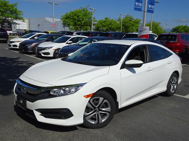 2017 Honda Civic Sedan LX CVT! Honda Certified Extended Warranty to #Y1257A