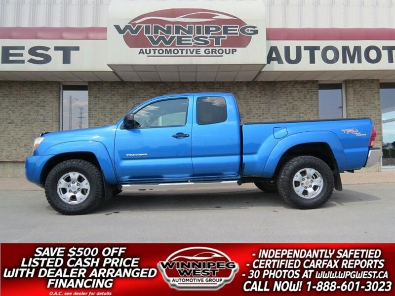 2007 Toyota Tacoma TRD OFF RD 4X4 4.0L V6, LOW KMS, CLEAN & SHARP #GW5033