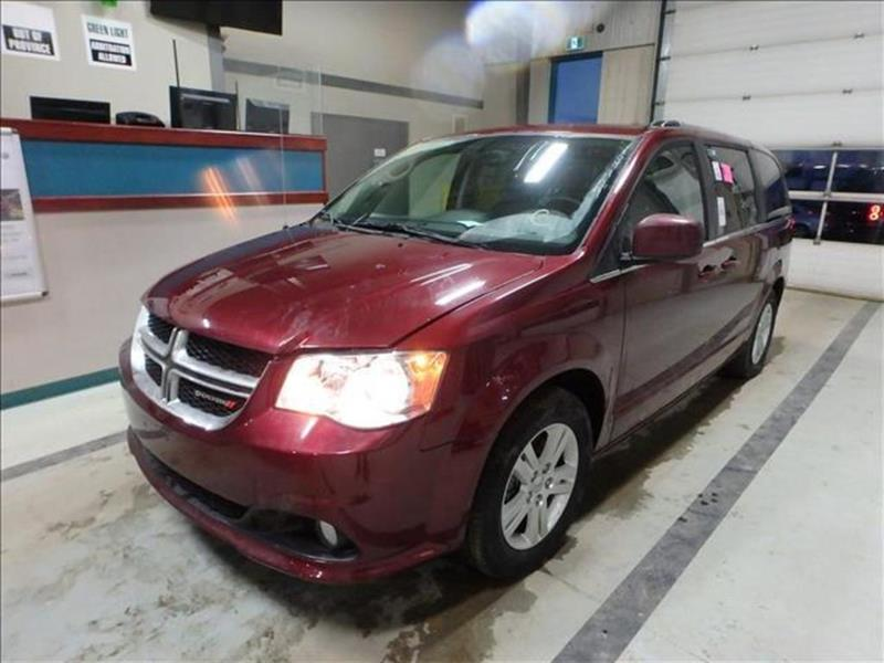 2018 Dodge Grand Caravan Crew Plus *Htd Lthr/Navi/Backup Cam/V6 #23927