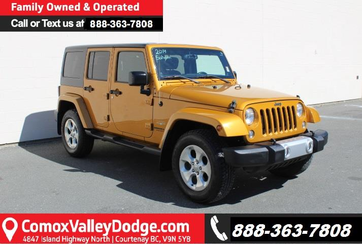 2014 Jeep Wrangler Unlimited Sahara #D361896A