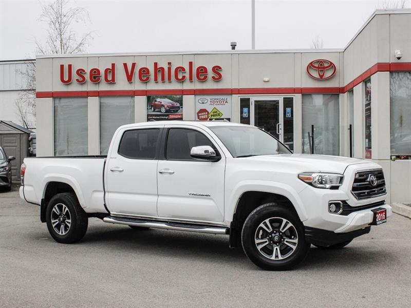 2016 Toyota Tacoma LIMIITED   NAVI  LEATHER   ONE OWNER   LEASE RETUR #L8001