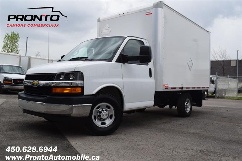 2018 Chevrolet Express 3500 Cube 12 pieds ** 6.0L **  #1861