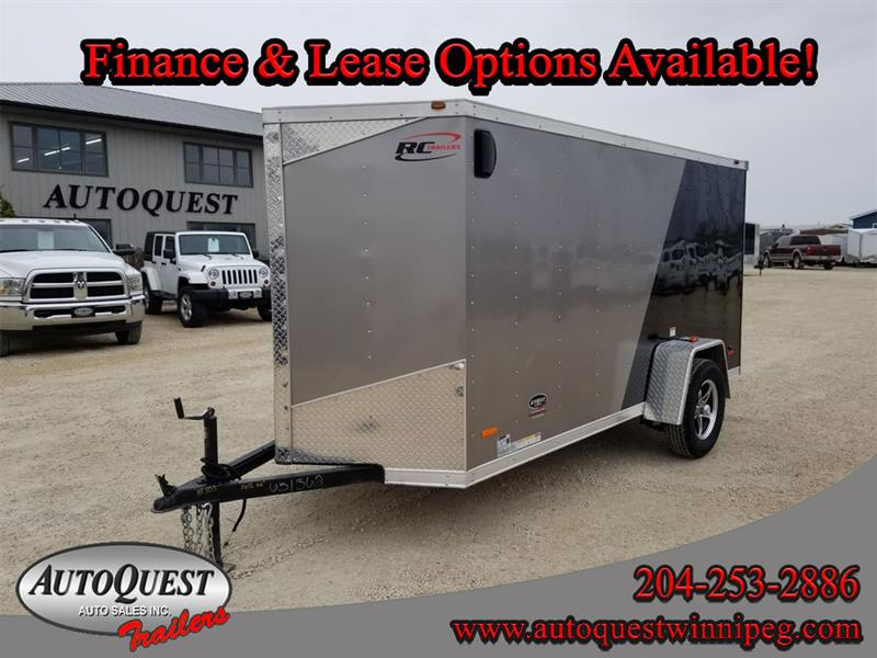 2019 RC Trailers 5' x 12' x 66