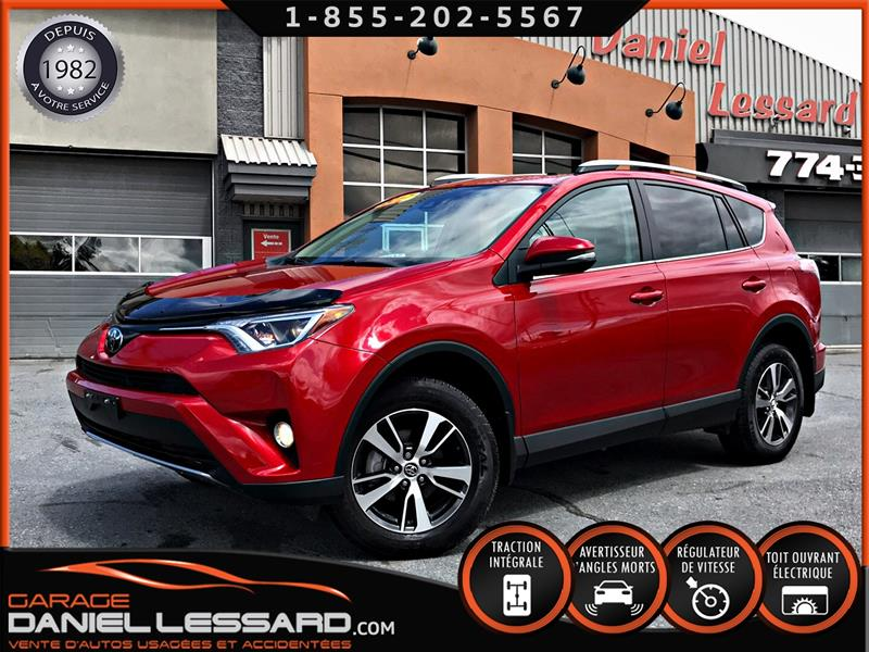 Toyota RAV4 2017 AWD XLE, 2.5 L, TOIT, BAS KM, ANGLES MORT, ET +++ #78376