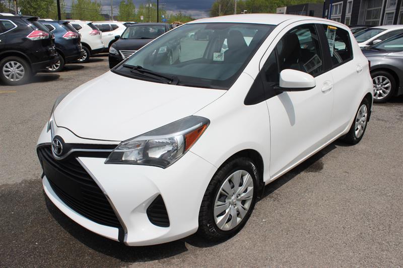 Toyota Yaris 2015 LE  #4957
