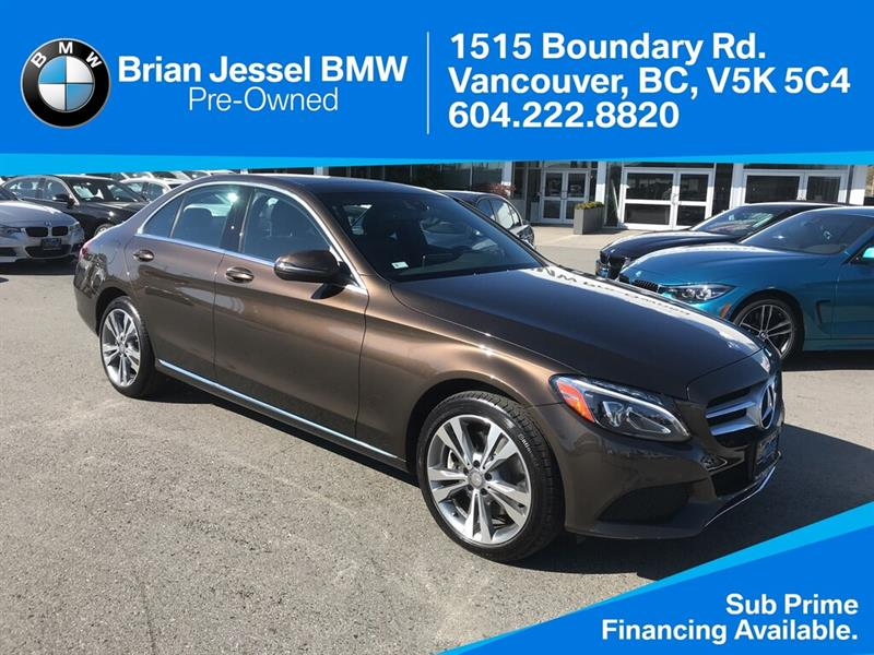 2016 Mercedes-Benz C300 4MATIC® #BPS065