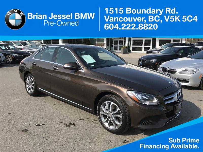 2015 Mercedes-Benz C300 4MATIC Sedan #BPS063