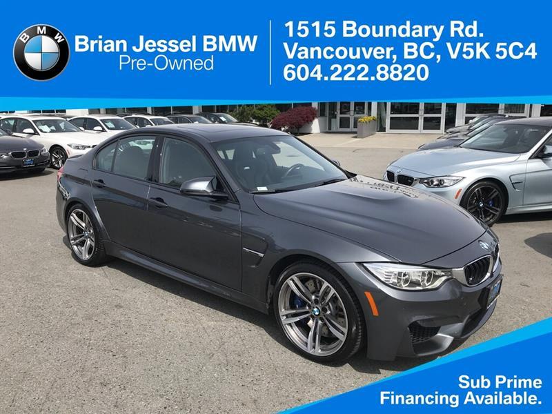 2016 BMW M3 Sedan #BP7996
