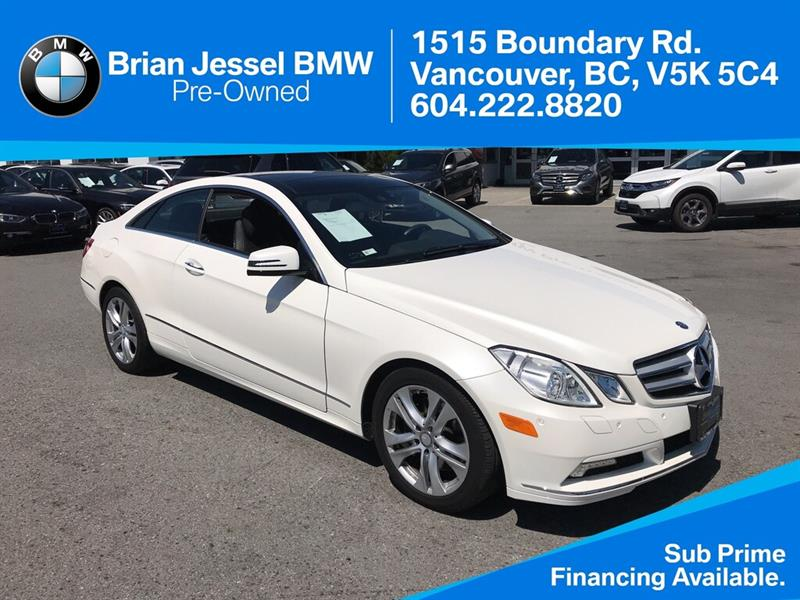 2010 Mercedes-Benz E350 Coupe #BP783610