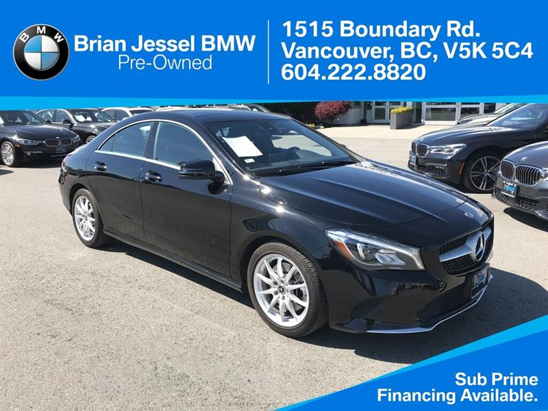 2018 Mercedes-Benz CLA250 4MATIC® #BPS078