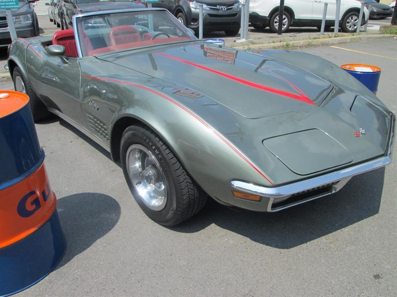 Chevrolet Corvette Stingray 1970 Convertible #Corvette