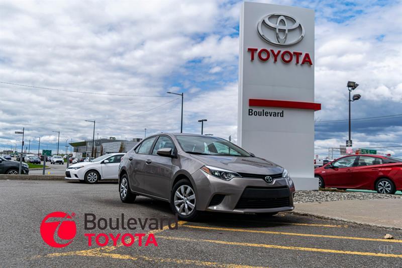 Toyota Corolla 2014 * LE * #85710A