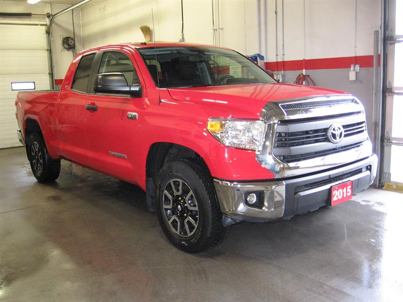 2015 Toyota Tundra 4WD Double Cab Trd 5.7L #B5653A