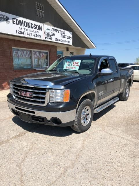 2012 GMC Sierra 1500 4WD Ext Cab 143.5 SL Nevada Edition