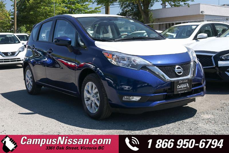 2019 Nissan Versa Note SV FWD w/ Special Edition Pckg #9-B209-NEW