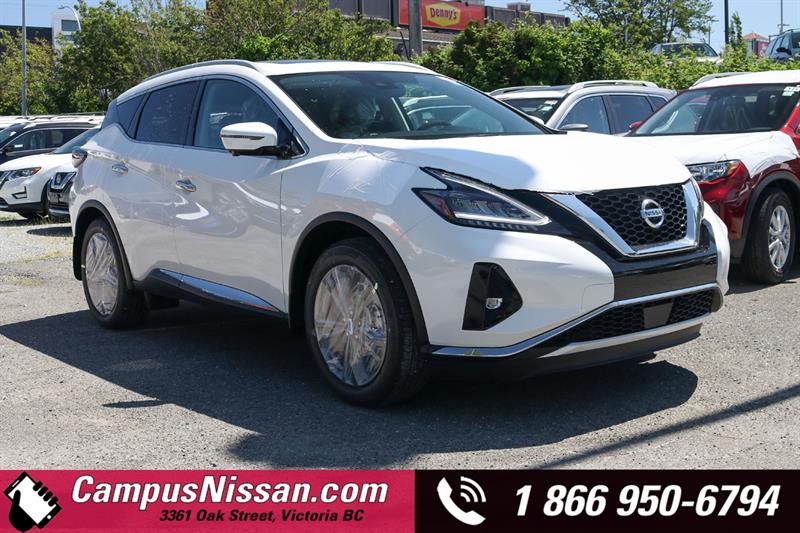 2019 Nissan Murano Platinum AWD w/ Leather & Moonroof #9-Q437
