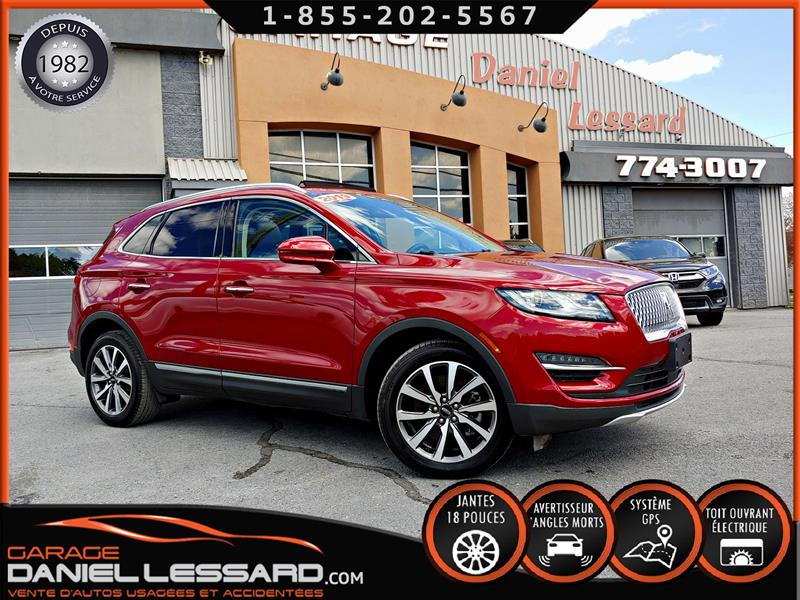 Lincoln MKC 2019 ULTRA, 2.0 TURBO,CUIR, TOIT PANO, GPS, FULL !! #99322