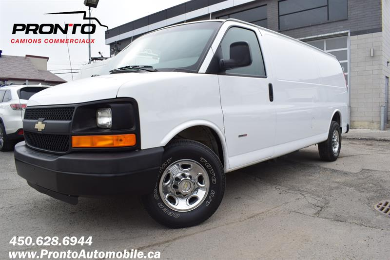Chevrolet Express Cargo Van 2013 3500 ** 6.6L Duramax ** Allongé ** #1864