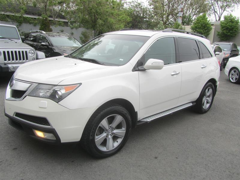 2011 Acura MDX AWD SH-AWD TOIT OUVRANT 7 PASSAGERS #4456A