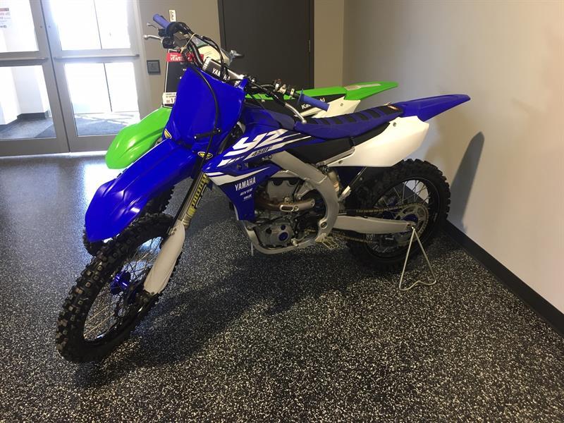 Yamaha YZ450FHL 2018