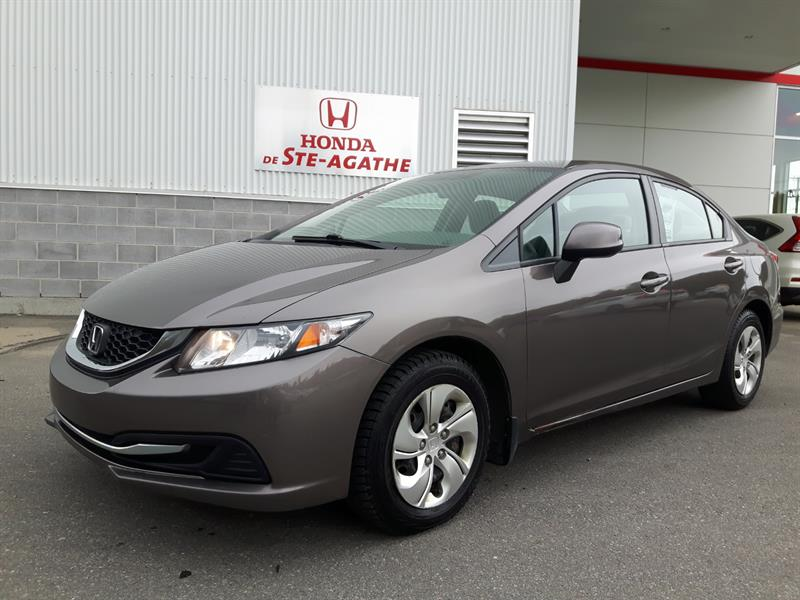 Honda Civic 2013 LX manuelle * Cruise control, A/C, Bluetooth #k094a