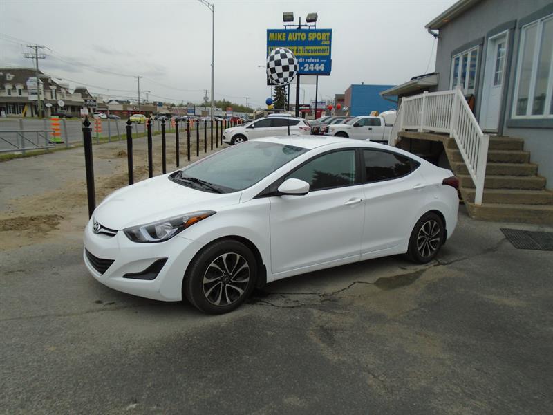 2016 Hyundai Elantra 4dr Sdn