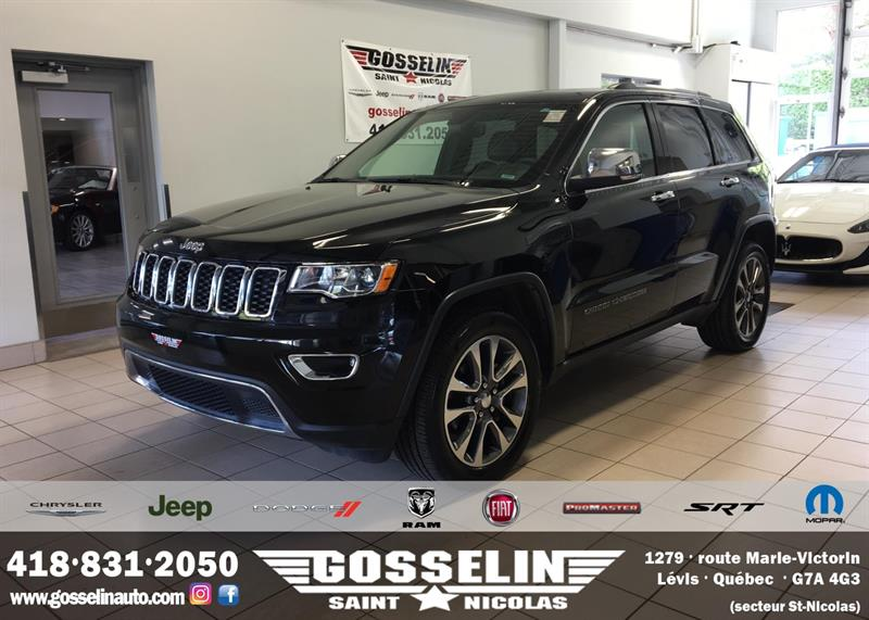 Jeep Grand Cherokee 2018 Limited 4x4 #2419A