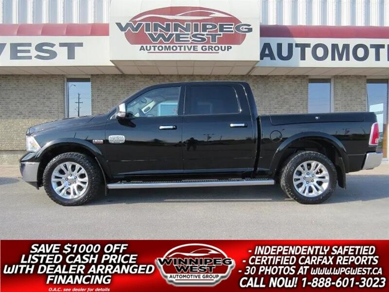 2013 Ram 1500 LARAMIE LONGHORN 4X4, RAM BOX, HARD LOADED!! #GW4723