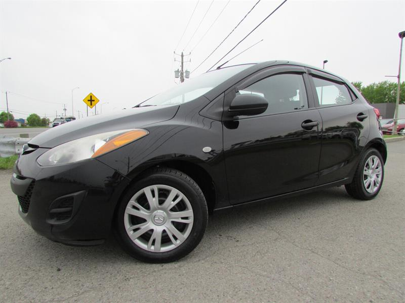 Mazda Mazda2 2012 Man. GX A/C GR ELECTRIQUE!!! #4492A