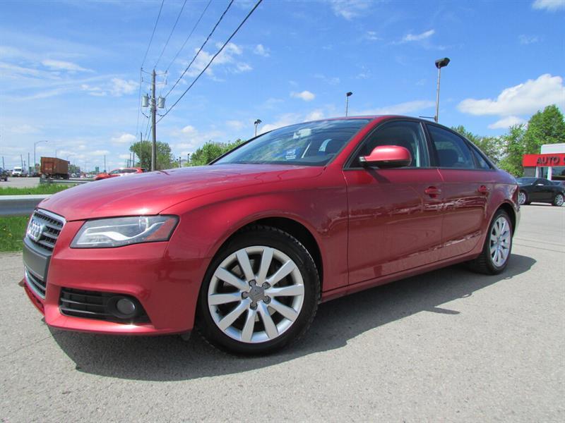 Audi A4 2011 Quattro 2.0T BLUETOOTH TOIT OUVRANT!! #4501
