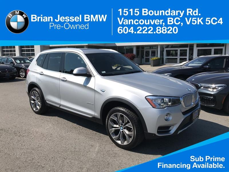 2016 BMW X3 - Premium ; Tech Pkg - #BP8178